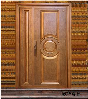 别墅大门,铸铝门,金属门,防盗门,别墅进户门
