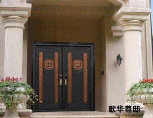 别墅门,别墅大门,铸铝门